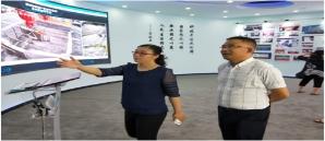 公司总裁一行参观走访赣州市云计算中心