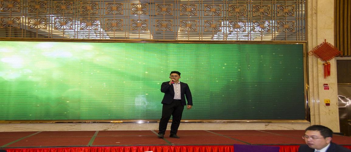 福建鸿达在福州国惠酒店举办2017年尾牙晚宴