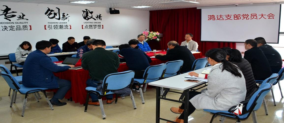 公司党支部召开民主生活会和党员民主评议大会